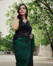 Akshaya-Premnath-in-green-saree-2
