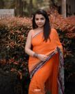 Akshaya-Premnath-orange-saree-5