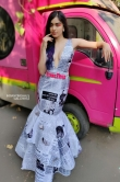 Adah sharma in newspaper dress (2)