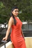 sai akshatha stills in orange dress (19)