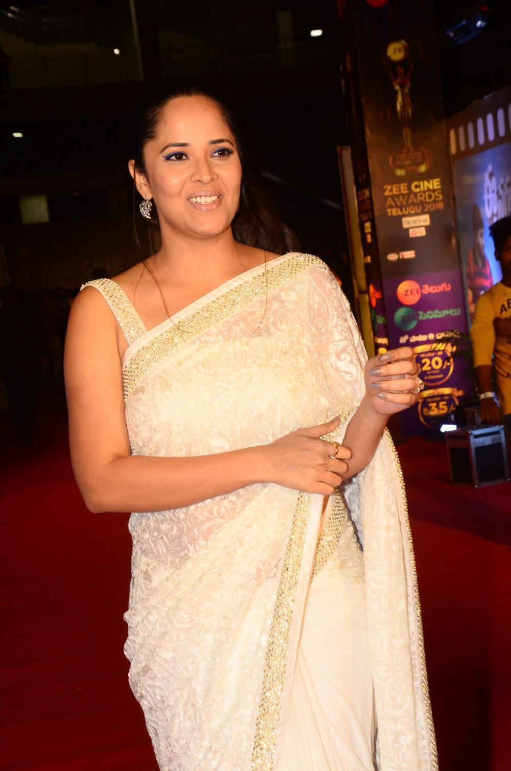 Anasuya Bharadwaj at Zee Awards 2019 (5)