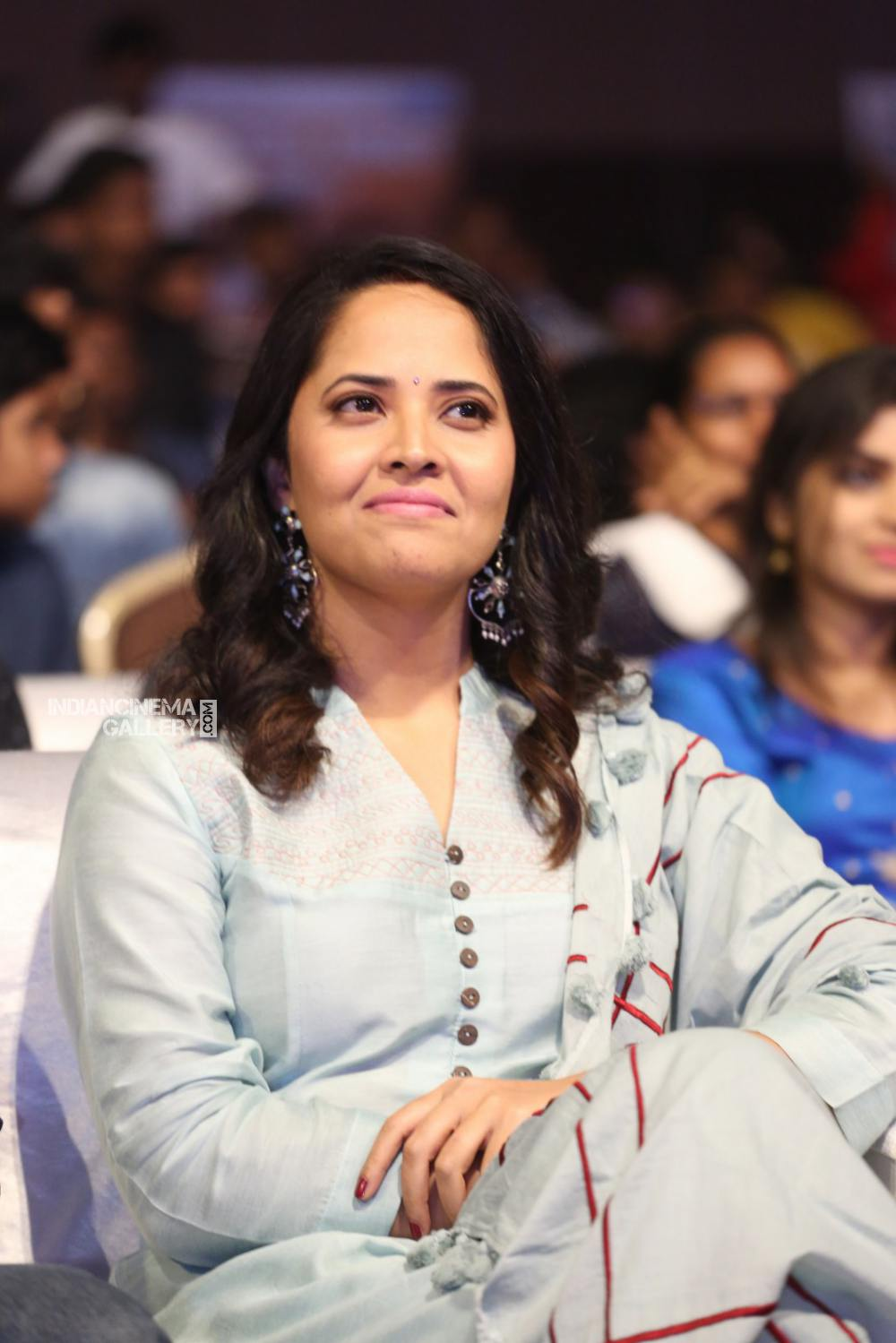 Anasuya at F2 success meet (13)