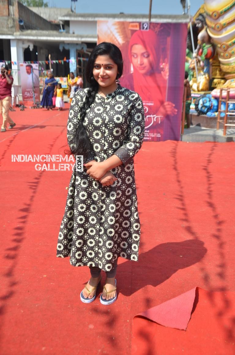 Anu Sithara at ameer movie pooja (1)