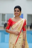 Anusree in kerala set saree stills (10)