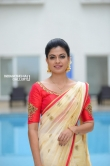 Anusree in kerala set saree stills (11)