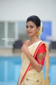 Anusree in kerala set saree stills (14)