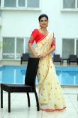 Anusree in kerala set saree stills (16)