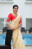 Anusree in kerala set saree stills (17)