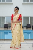 Anusree in kerala set saree stills (8)