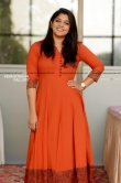 Aparna Balamurali photos in orange dress april 2019 (1)