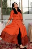 Aparna Balamurali photos in orange dress april 2019 (12)