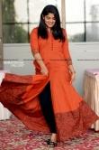 Aparna Balamurali photos in orange dress april 2019 (9)
