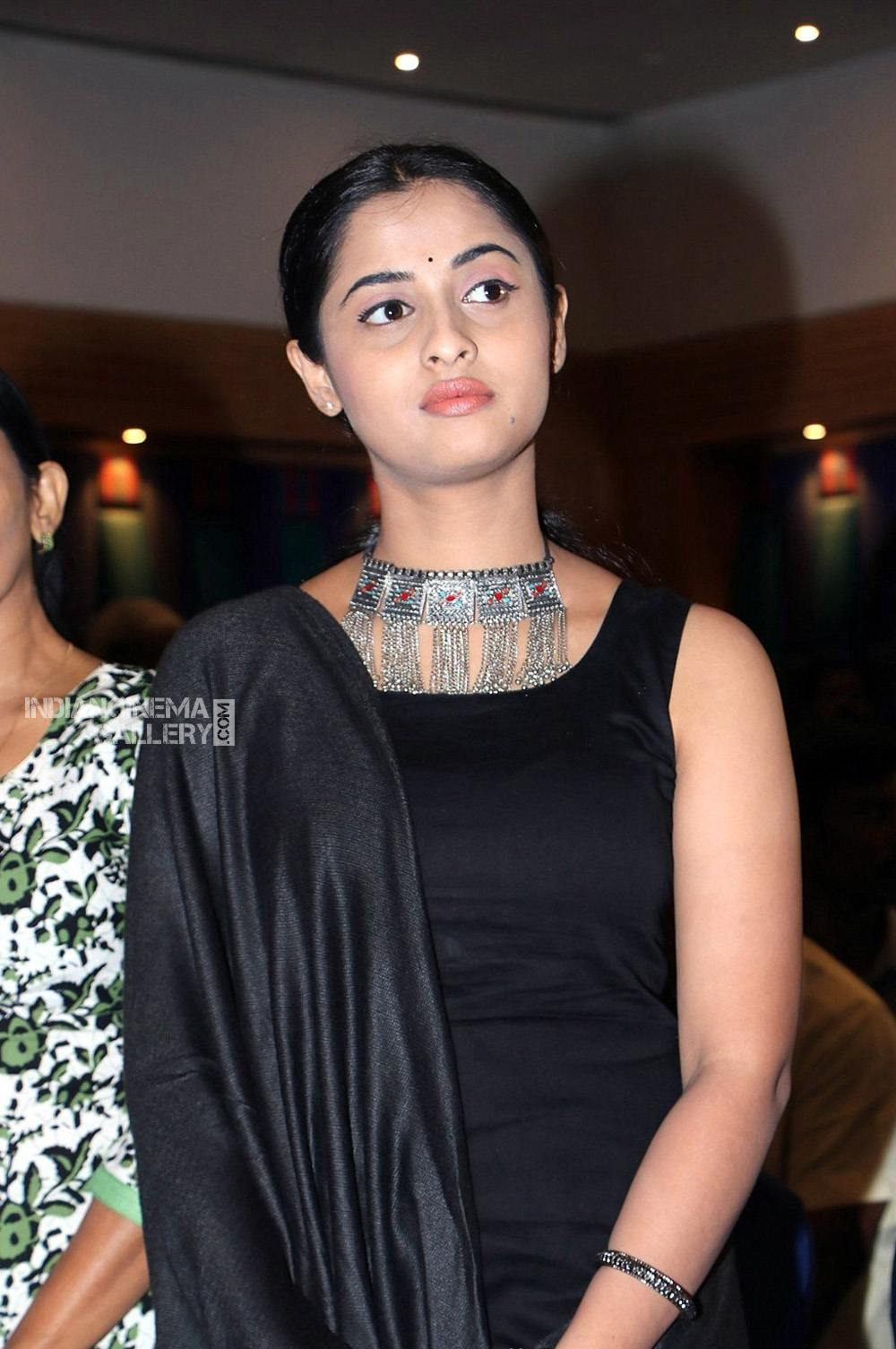 Arthana Binu in black dress stills (6)