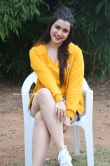 Mannara Chopra at Hi 5 Movie Shooting Coverage Press Meet (6)