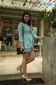 Mannara Chopra in blue dress photo july 2019 (5)