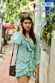 Mannara Chopra in blue dress photo july 2019 (7)