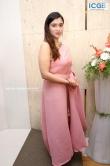 Mannara Chopra in pink saree stills (1)