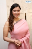 Mannara Chopra in pink saree stills (4)