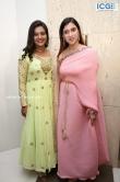 Mannara Chopra in pink saree stills (5)