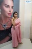 Mannara Chopra in pink saree stills (7)
