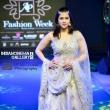 Mannara Chopra looks dreamy in ethnic wear as a showstopper for Ap fashion week stills (10)