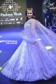 Mannara Chopra looks dreamy in ethnic wear as a showstopper for Ap fashion week stills (5)