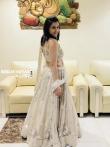 Mannara Chopra looks dreamy in ethnic wear as a showstopper for Ap fashion week stills (7)