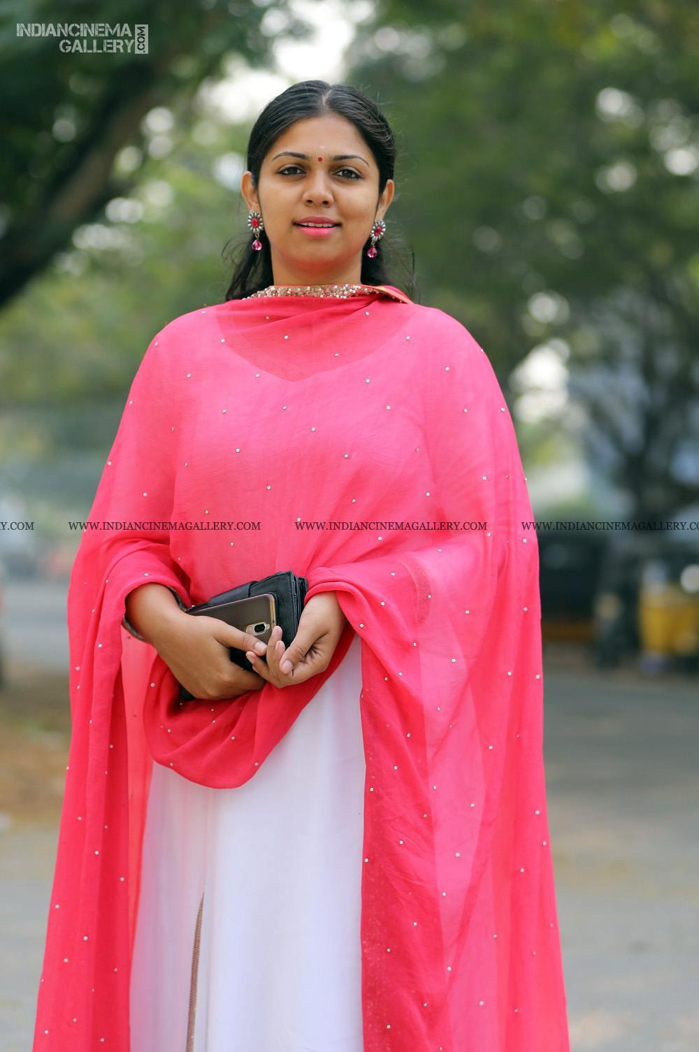 Anjali Nair at Vritham Movie Launch (2)