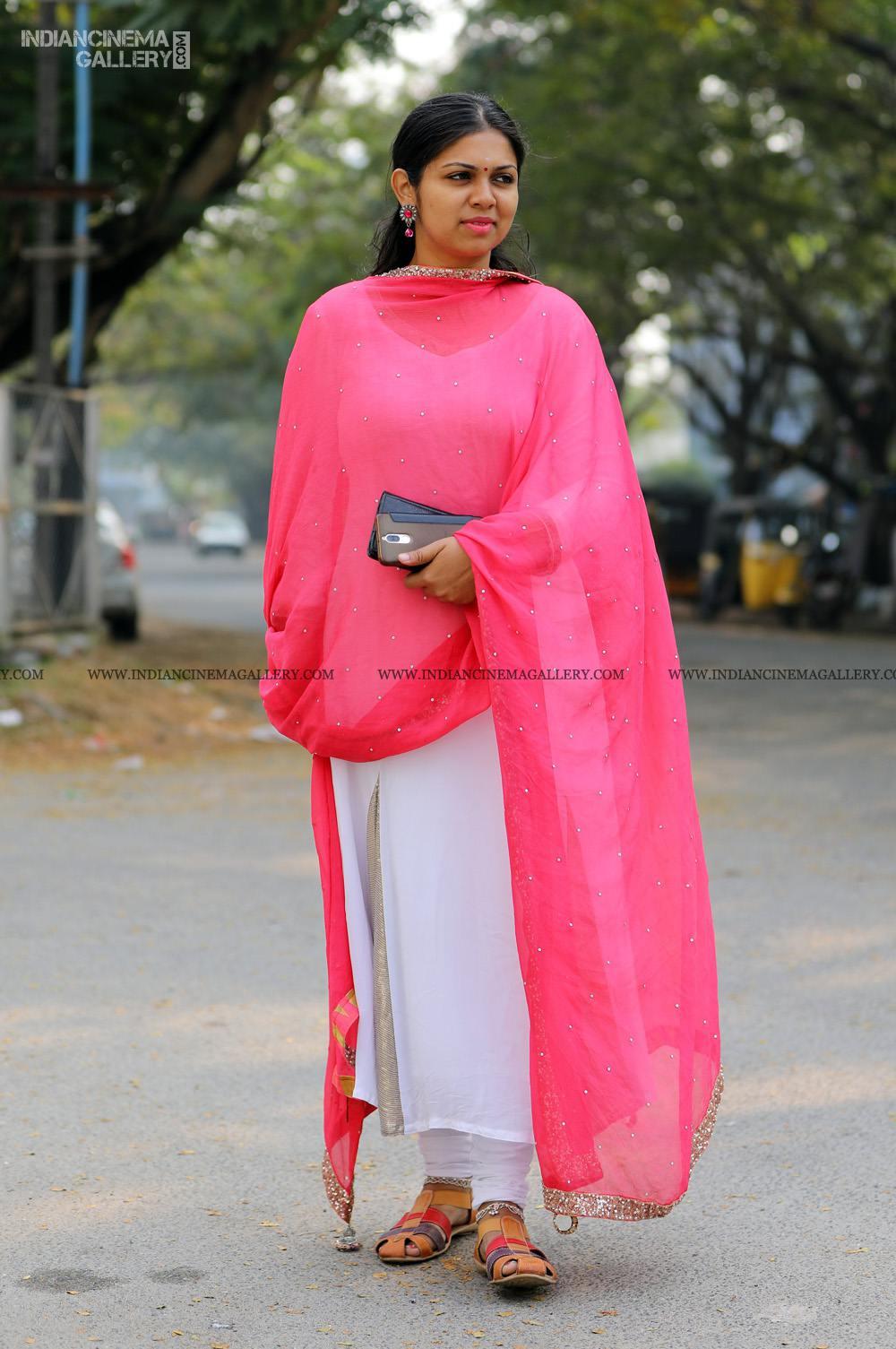 Anjali Nair at Vritham Movie Launch (5)