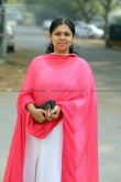 Anjali Nair at Vritham Movie Launch (1)