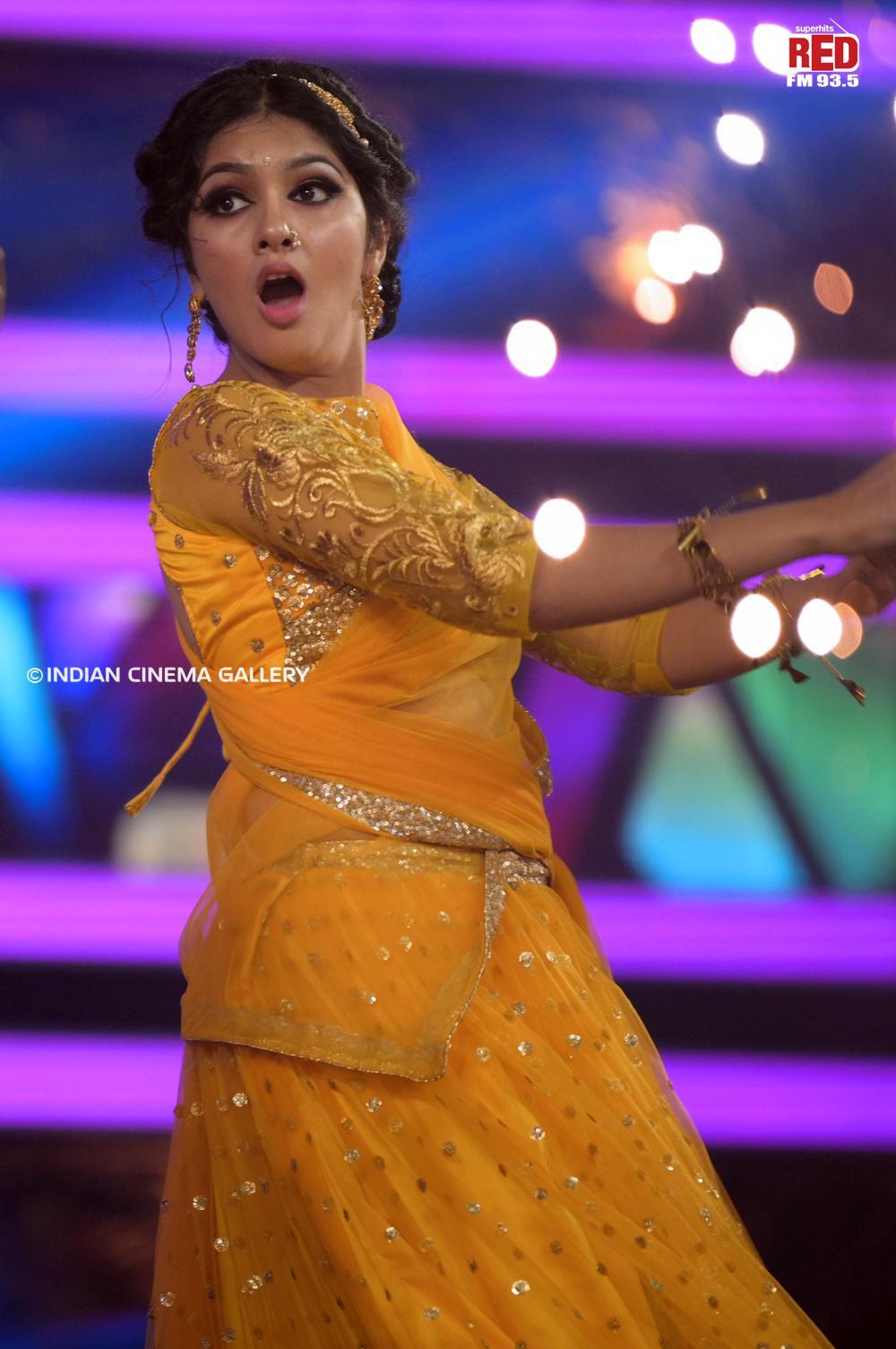 Gayathri Suresh dance at red fm music awards 2019 (29)