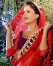 Gehana Vasisth in red dress (1)