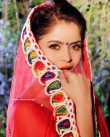 Gehana Vasisth in red dress (2)