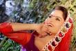 Gehana Vasisth in red dress(2)