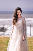 Hamsa nandini in white gown stills (1)