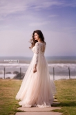 Hamsa nandini in white gown stills (3)
