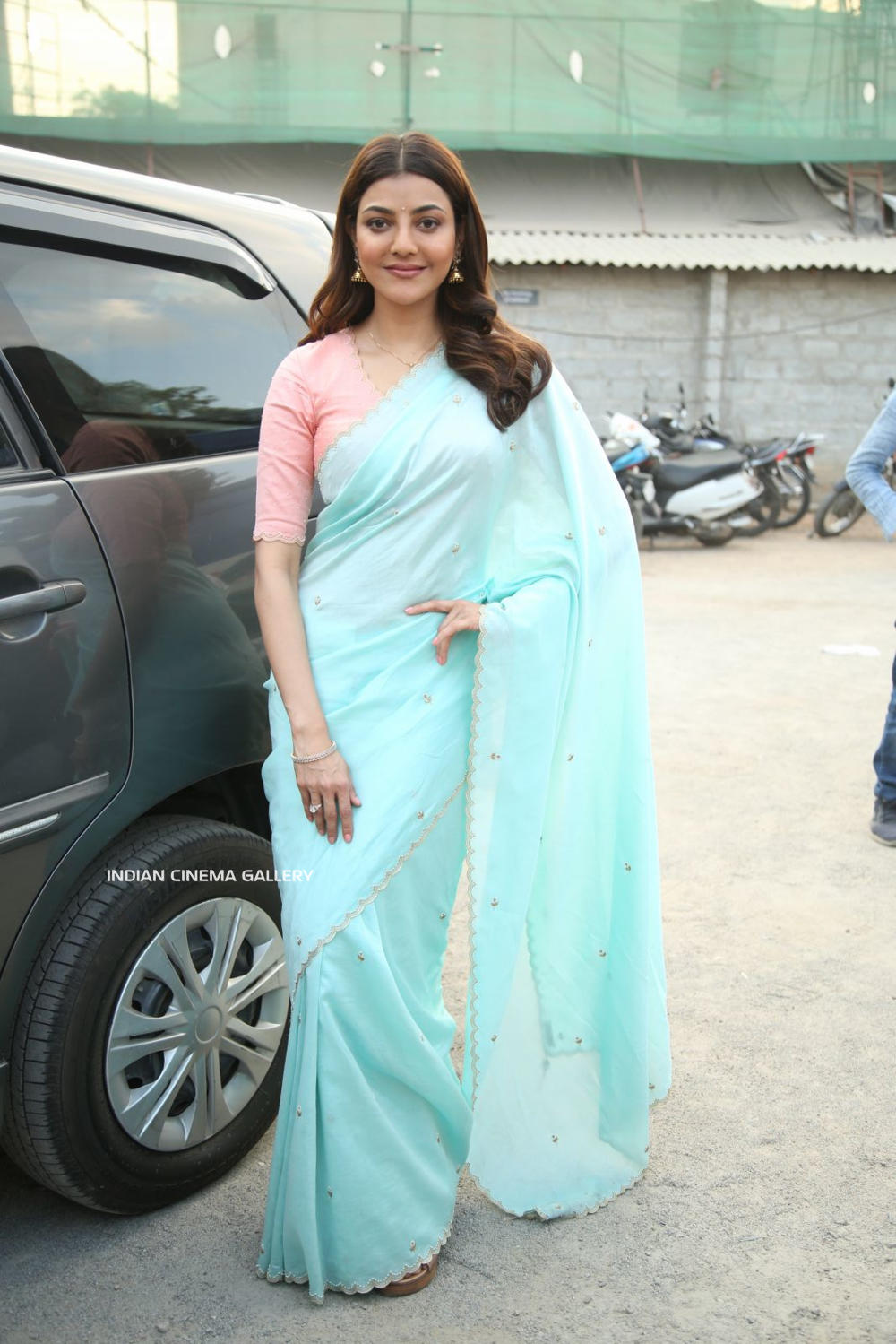 Kajal Aggarwal in saree dress (7)