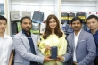 kajal agarwal at happi mobiles 57th store opening (10)