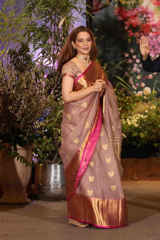 Kangana Ranaut at sonam kapoor wedding reception (5)