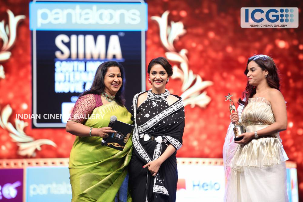 Keerthi Suresh at SIIMA Awards 2019 (4)