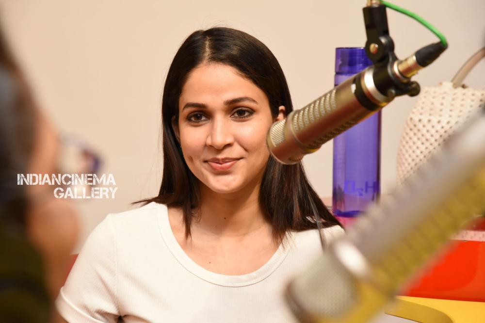 Lavanya Tripathi at Arjun Suravaram Song Launch at Radio Mirchi (13)