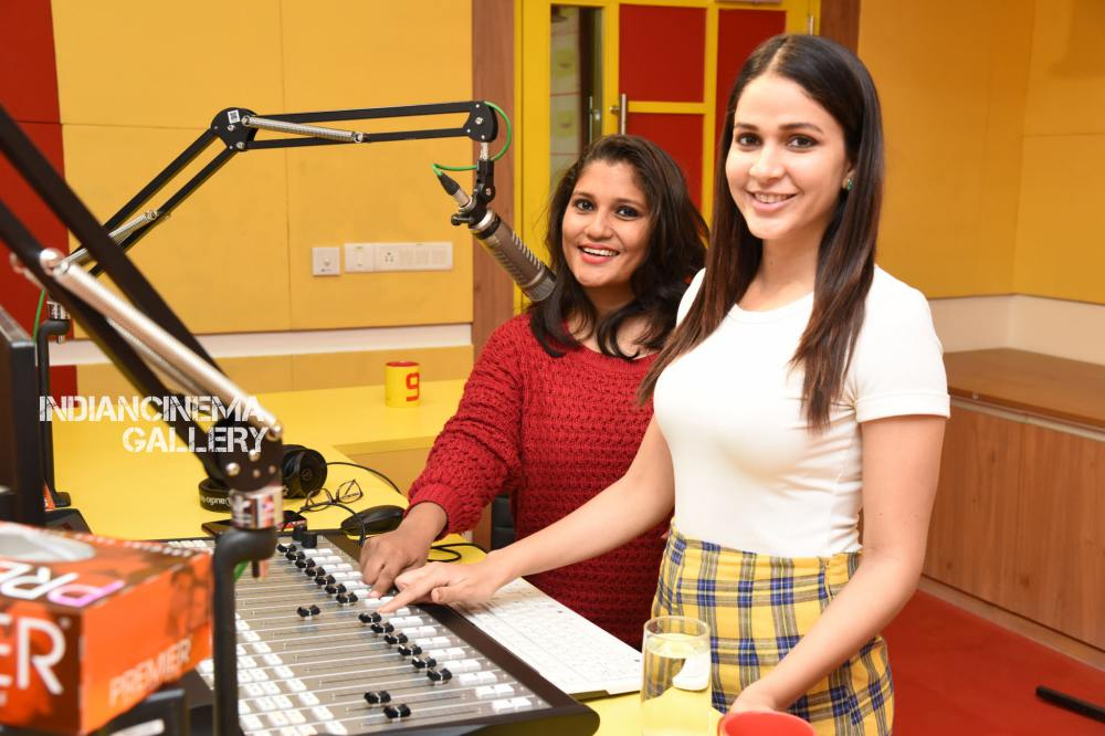 Lavanya Tripathi at Arjun Suravaram Song Launch at Radio Mirchi (15)