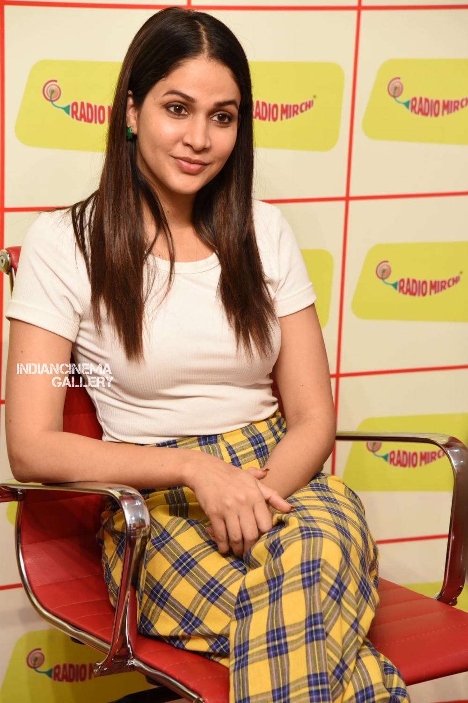 Lavanya Tripathi at Arjun Suravaram Song Launch at Radio Mirchi (6)