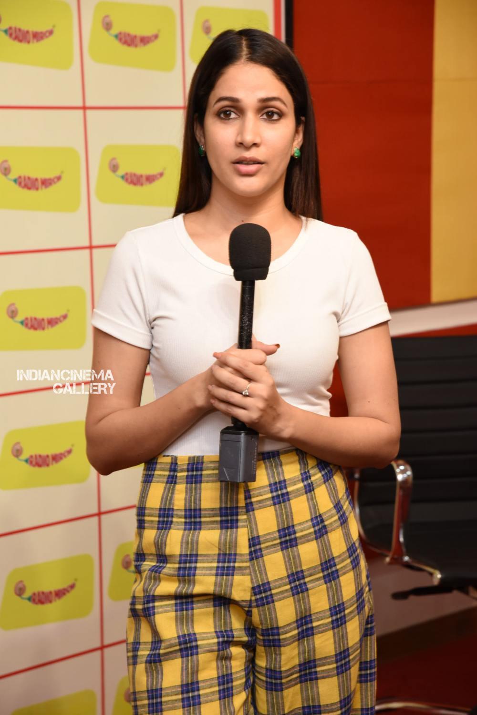 Lavanya Tripathi at Arjun Suravaram Song Launch at Radio Mirchi (8)