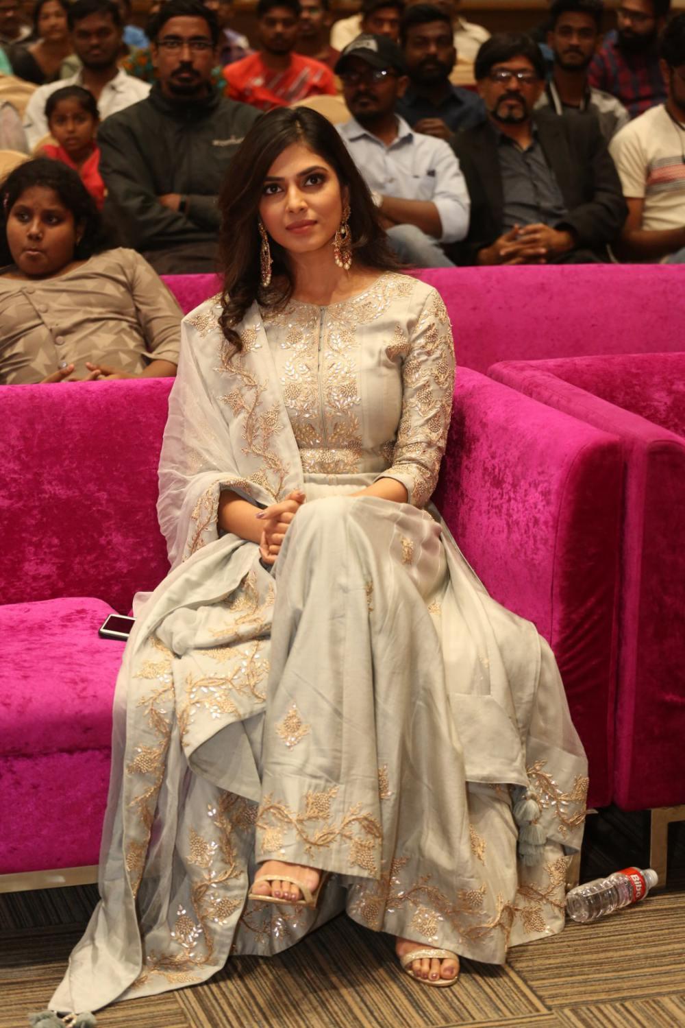 Malavika Mohanan at peta movie audio launch (2)