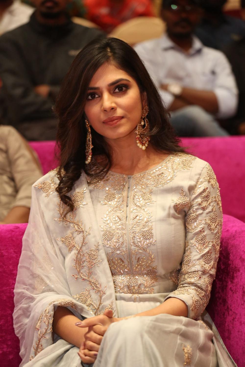 Malavika Mohanan at peta movie audio launch (3)