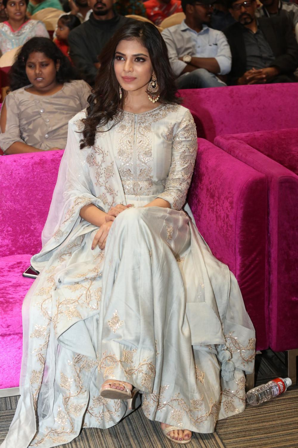 Malavika Mohanan at peta movie audio launch (9)