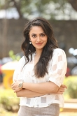 Malavika Nair at Orey Bujjiga Movie Press Meet (5)