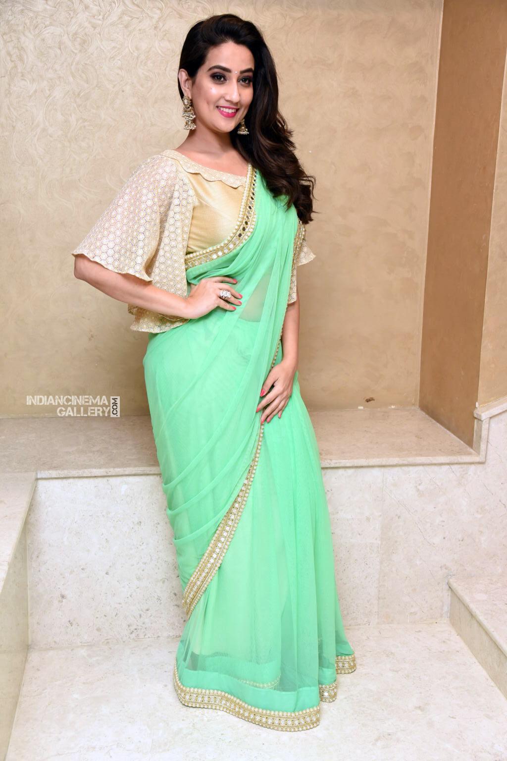 Manjusha at Suvarna Sundhari Movie Trailer Launch (18)