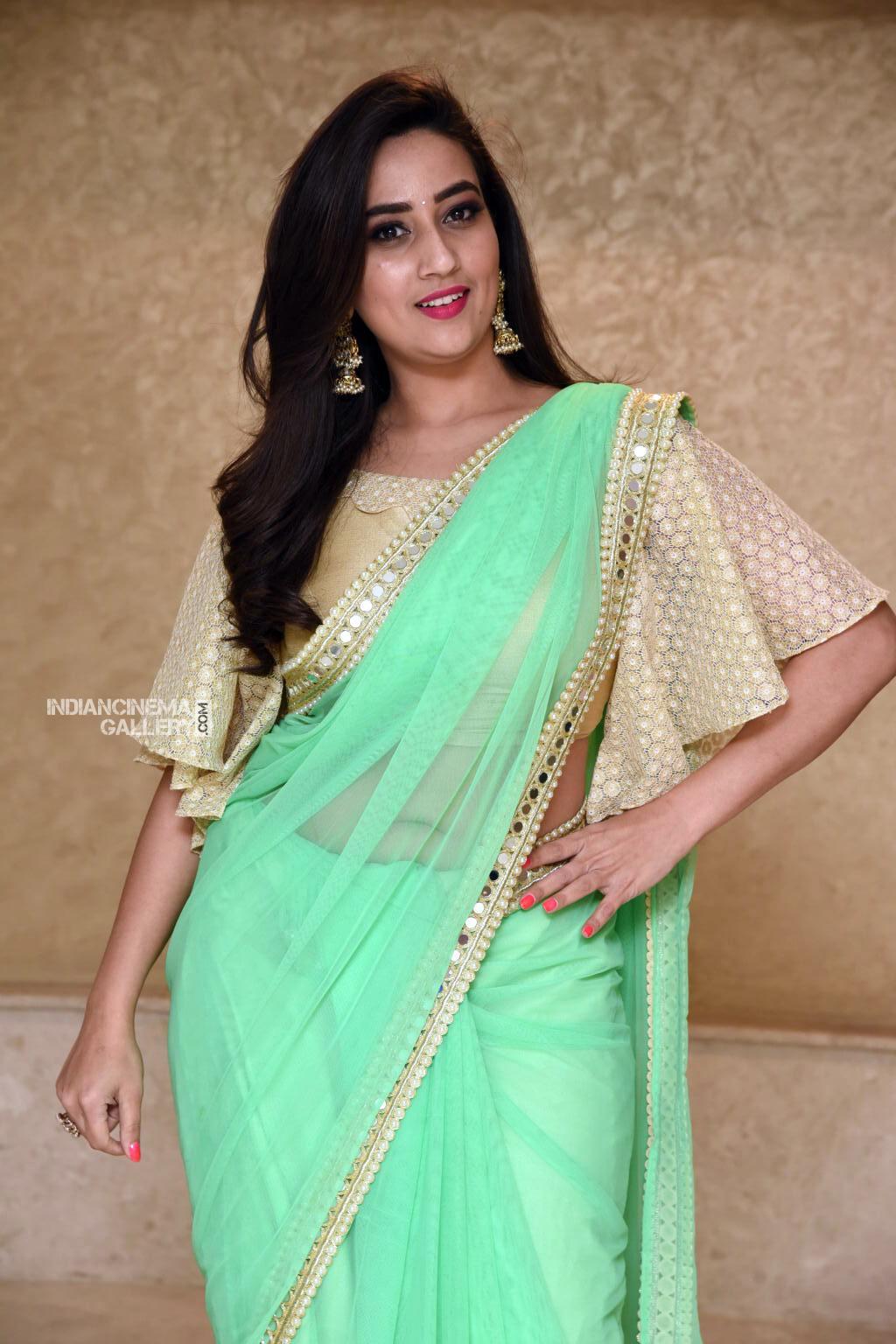 Manjusha at Suvarna Sundhari Movie Trailer Launch (5)